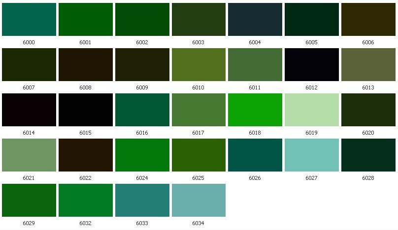 Как из зеленого цвета сделать салатовый